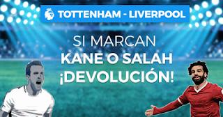 Paston promocion premier Tottenham vs Liverpool 15 septiembre