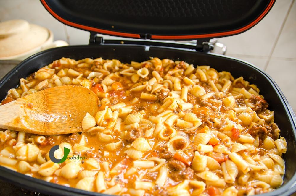 Resepi Mudah Makaroni Bakar Dengan Hanya Menggunakan Magix Pan!