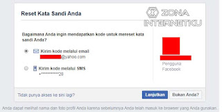 Cara Reset Password Akun Facecbook Dengan Email 2