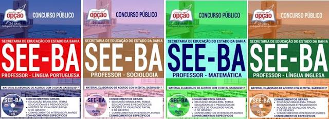 Apostila SEE BA Coordenador Pedagógico 2018: Concurso Secretaria da Educação da Bahia 2017.