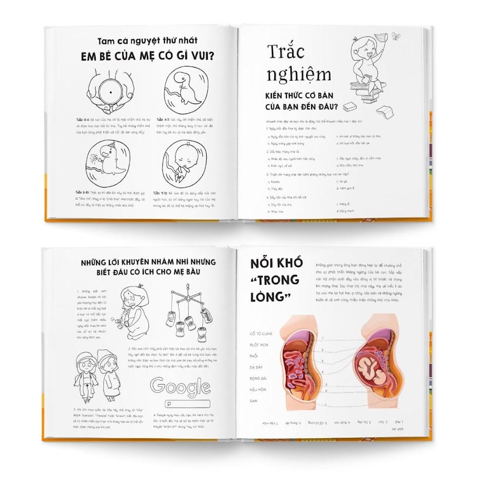 [A116] Bật mí những cuốn sách về mang thai hay nhất, tốt cho Bà Bầu