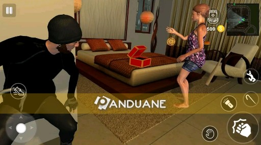 Game pencurian dikejar polisi