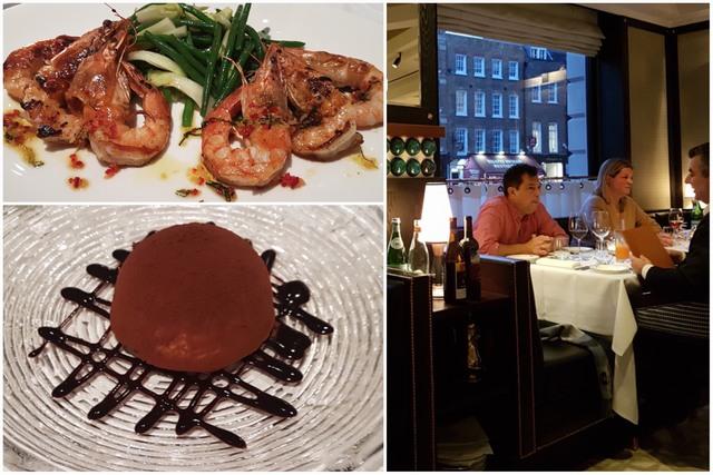 Restaurante Margot en Covent Garden, Londres