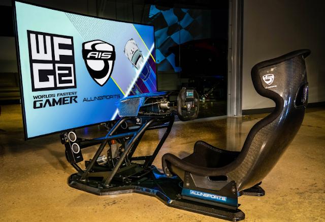 Simulador instalado por Allinsports a Fernando Alonso en mayo de 2020.