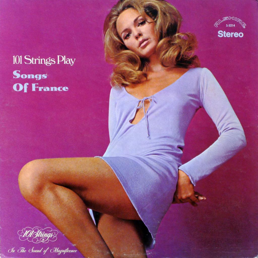 48 Vinyl Album Covers Featuring Women In Mini Skirts