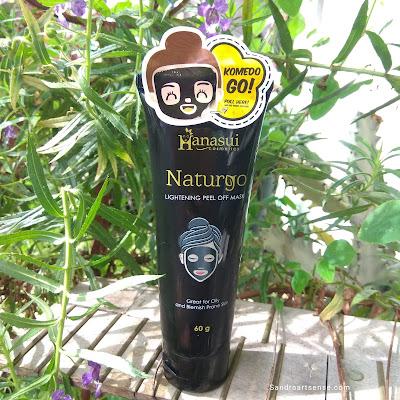 Hanasui Naturgo Lightening Peel Off Mask