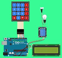 Belajar Arduino, Menyalakan Lampu Rumah Dengan Password