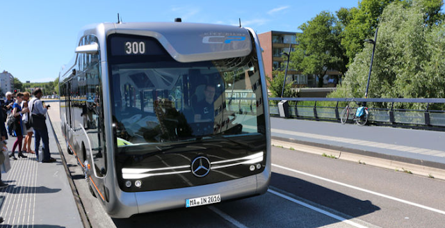 The Mercedes-Benz Future Bus Future of Mobility