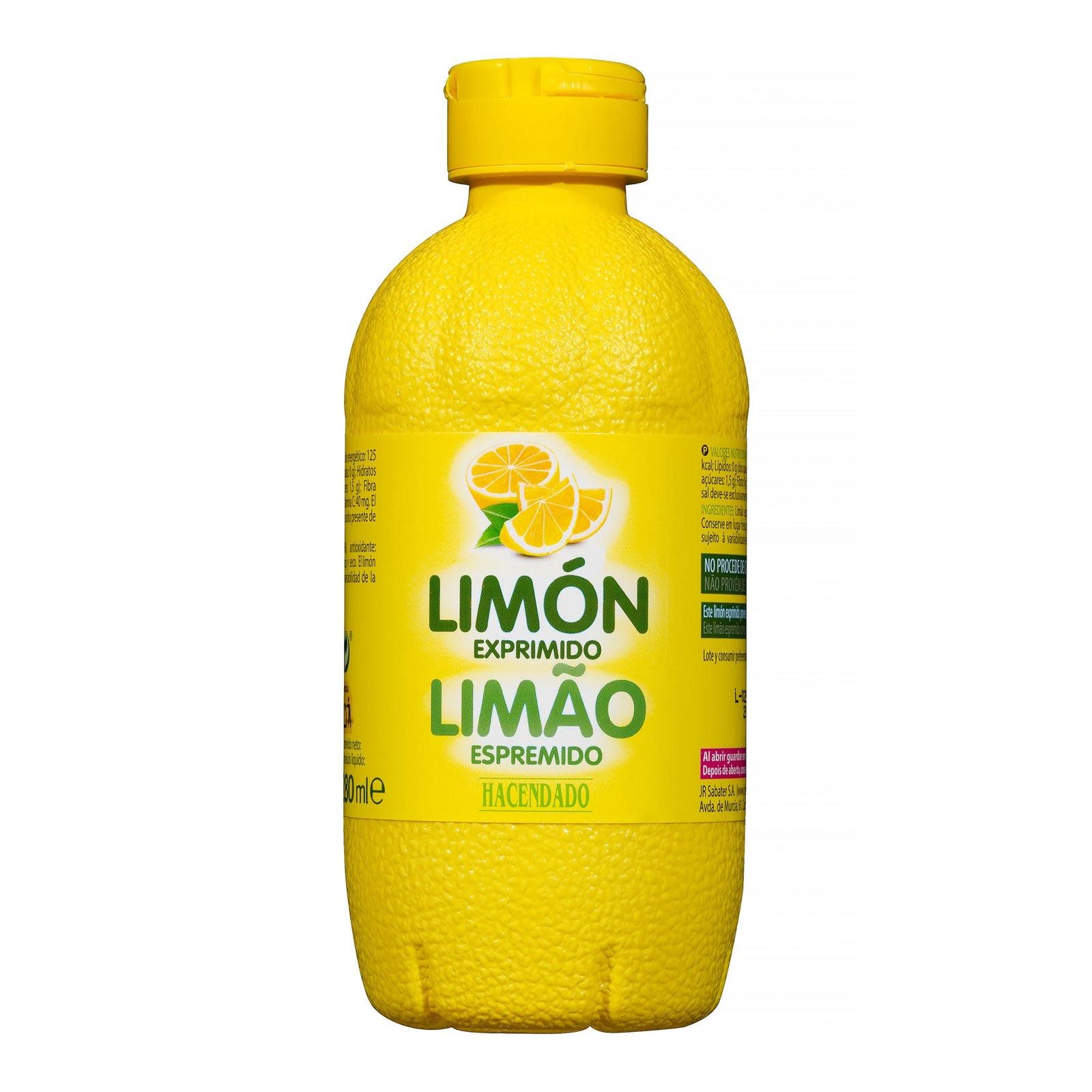 Limón exprimido Hacendado
