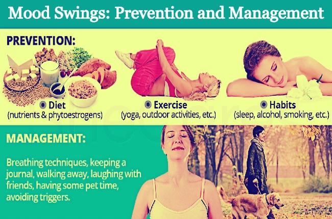 Mood swings prevention