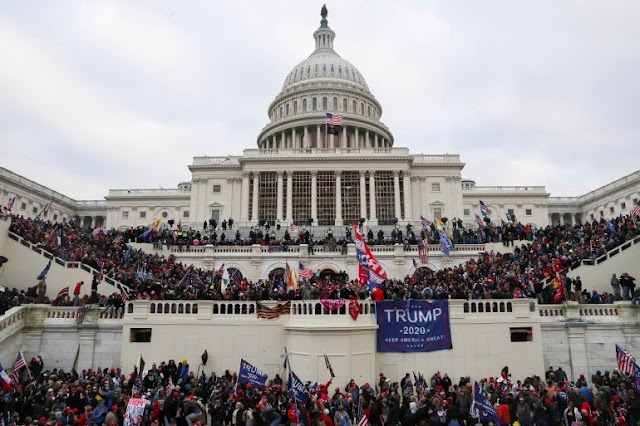 Big Breking:-  U.S. Congress caused the violence, with Trump supporters running the building riots
