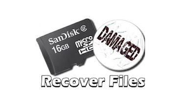 Recover Files SD Card