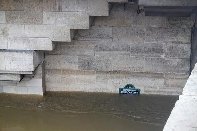 Paris crue de la Seine 2016