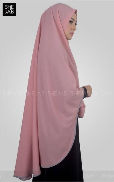 Khimar Maima Pink