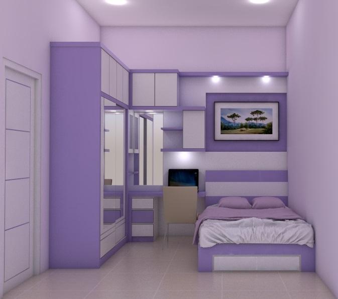 harga lemari pakaian tempat tidur Custom