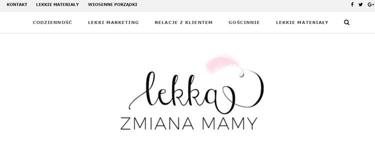 blog Lekka Zmiana Mamy