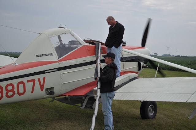 cover crop aerial seeding