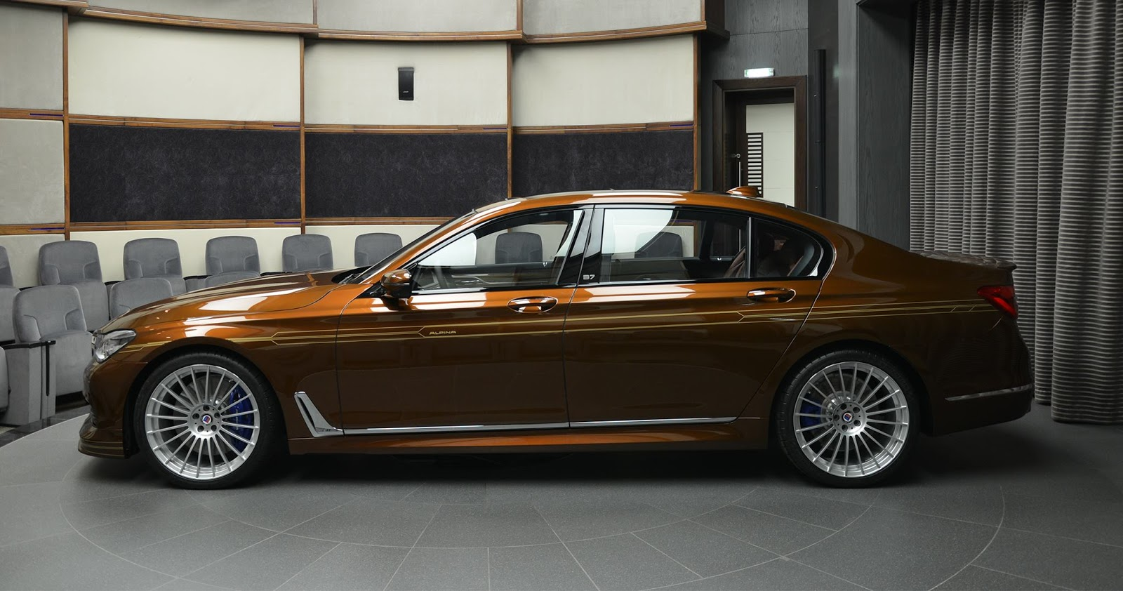Alpina B7 Individual Certainly Looks Different In Chestnut