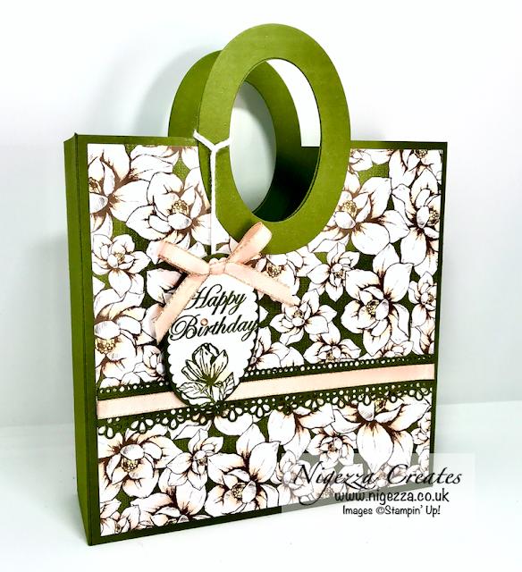 Magnolia Lane Gift Bag Stampin Up