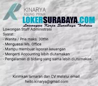 Lowongan Kerja Surabaya di Kinarya Agung Prima Juli 2020