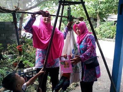 Kegiatan Rutin Posyandu Kenanga Desa Pananjung Kecamatan Pangandaran