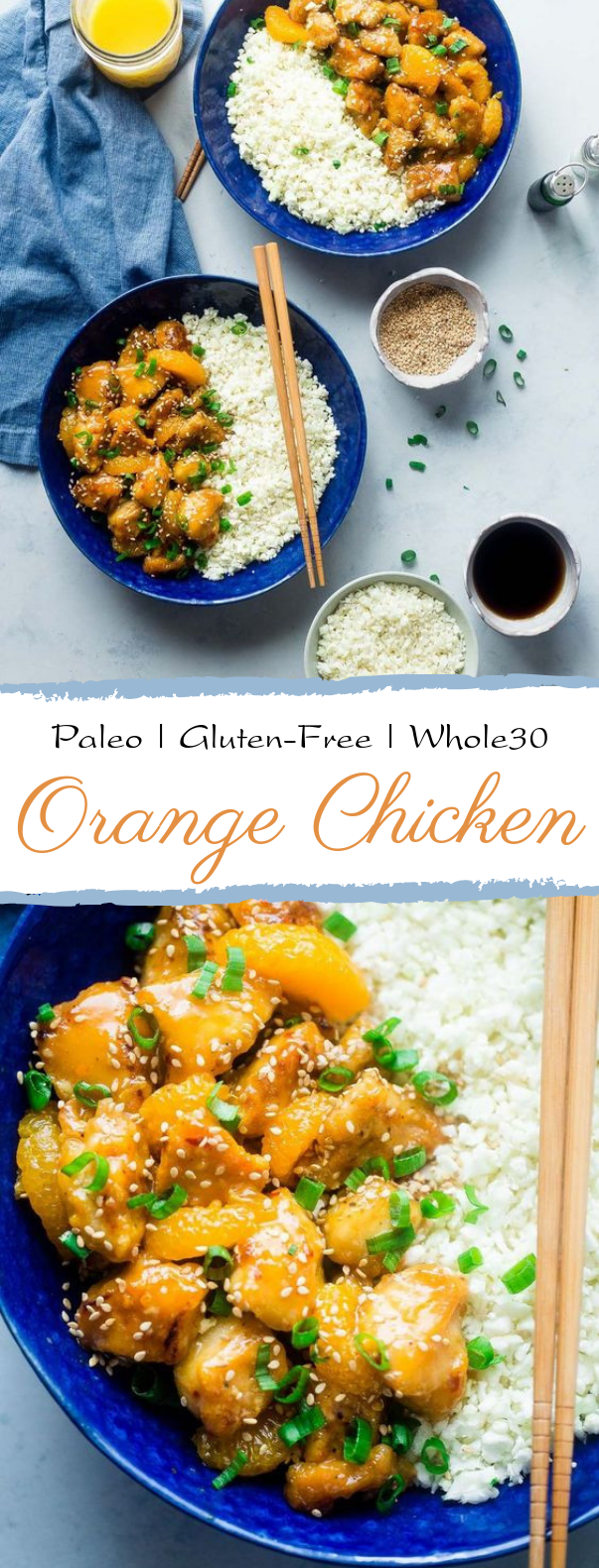 Paleo Orange Chicken #glutenfree #healthy