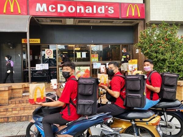 McDonald's Malaysia Rai Penghantar Makanan