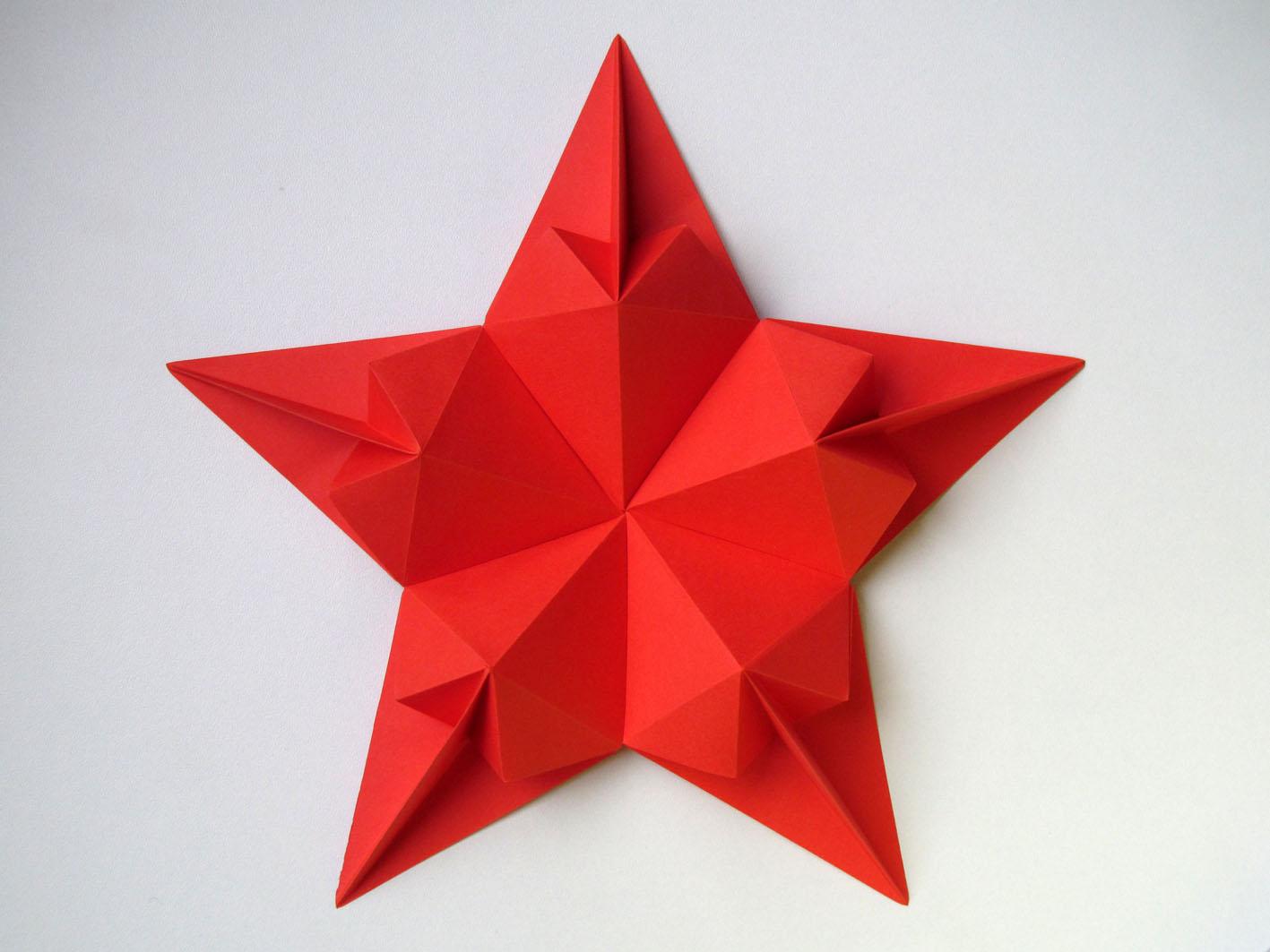 La Stella Di Natale Poesia.Origami Poesie Di Carta Stella Di Cuori