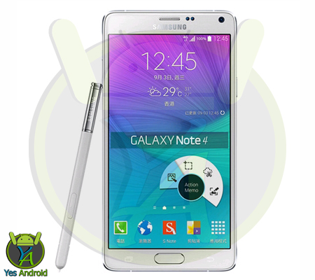 N9100ZCU1DPH1 Android 6.0.1 Galaxy Note 4 SM-N9100