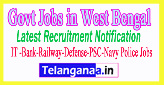 Latest West Bengal Government Job Notifications