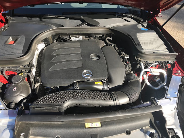 Engine in 2020 Mercedes-Benz GLC 300 4MATIC