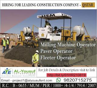 Leading Construction Company job in Qatar
