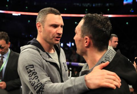I caused my brother's defeat to Anthony Joshua, with a wrong advice, Vitali Klitschko laments .