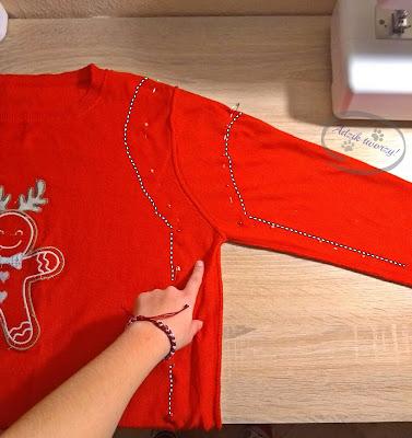 jak zmniejszyć sweter instrukcje