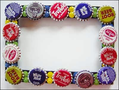 Beer Bottle Cap Craft Project Projects Art Craft Ideas