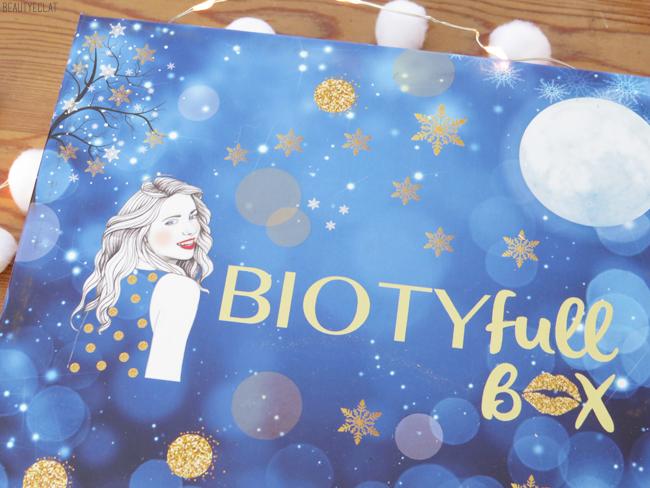 test biotyfull box decembre 2018 la festive