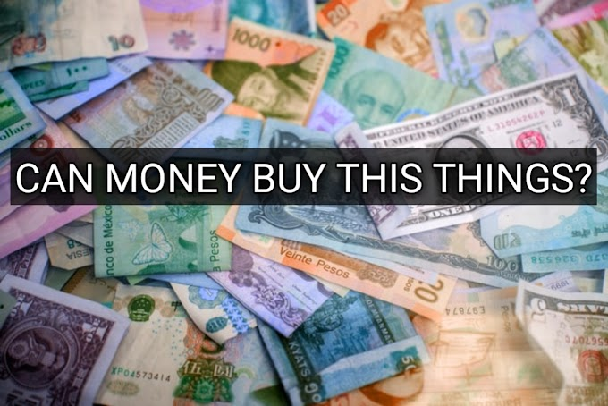 Check Out Things Money Can't Buy