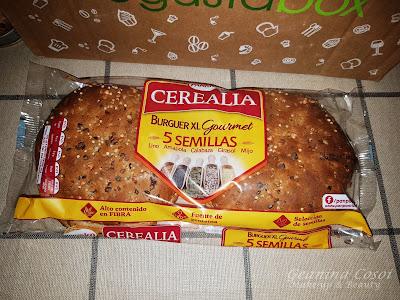 Burguer Gourmet 5 semillas Cerealia Caja Degustabox Julio ´16