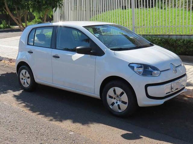 Volkswagen Up! x Fiat Mobi x Chery Celer