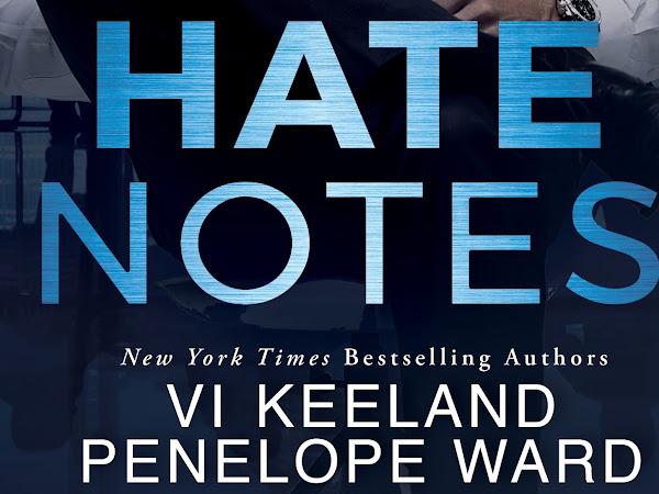 Vi Keeland & Penelope Ward - Hate Notes {Excerpt Reveal}