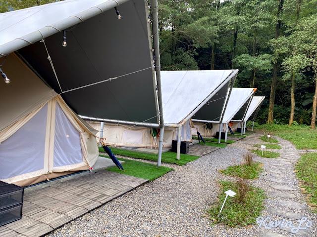 拉波波村營區環境木棧板