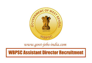 WBPSC Assistant Director Recruitment 2020