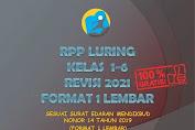 RPP Luring Kelas 1-6 Format 1 Lembar