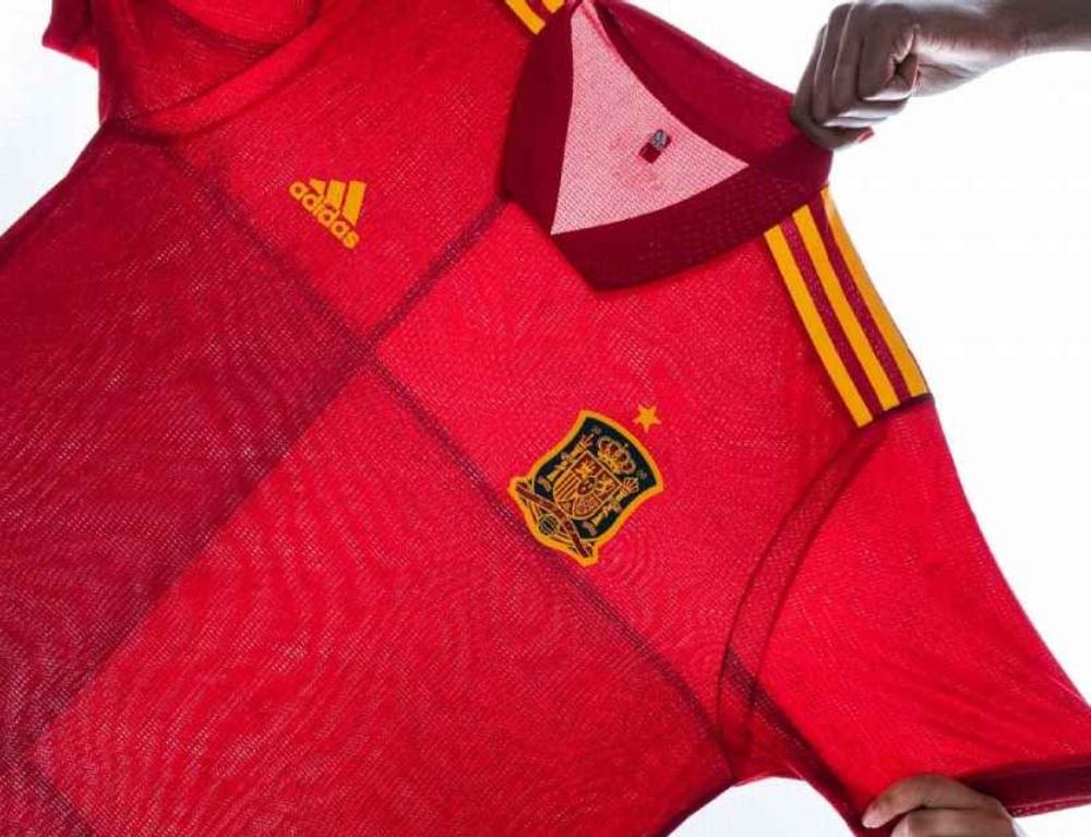 Spain Home Kit Euro 2020 Design