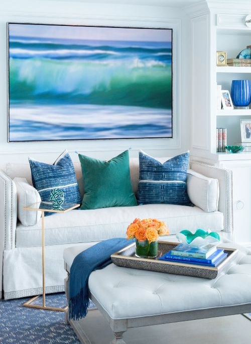 Ocean Decor Living Room