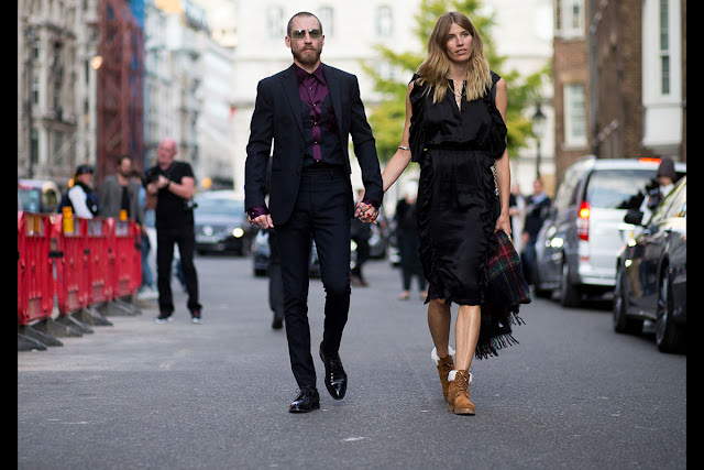 Arm cuff street style New London Week sept 2015