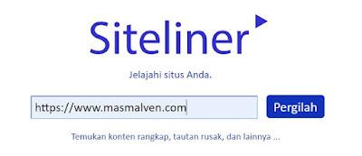 Cara Cek Broken Link di Siteliner 1