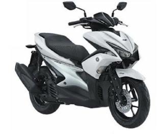 Yamaha Aerox 155 VVA, skuter sporty dengan tenaga mumpuni