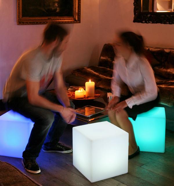 LED Powered illuminating Chairs