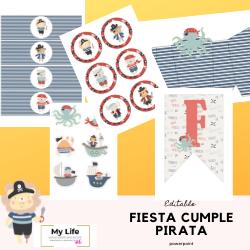 kit fiesta imprimible, editable, editar, descargar, navidad, halloween, cumpleaños